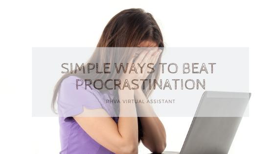 Simple Ways to Beat Procrastination