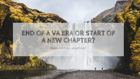 End of a VA Era or Start of a New Chapter?