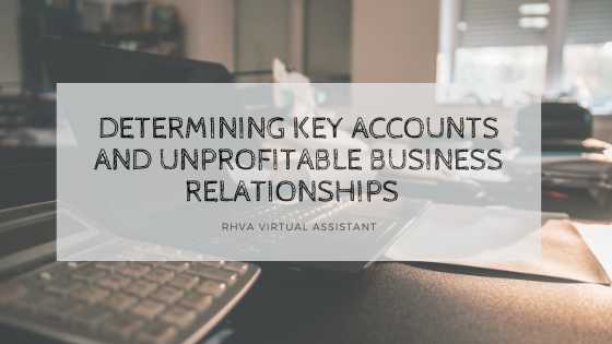 Determining Key Accounts and Unprofitable Business Relationships