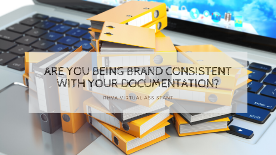 Are you Being Brand Consistent with your Documentation?